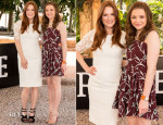 Julianne Moore In Dolce & Gabbana and Chloe Moretz In Marni - 'Carrie' Cancun Photocall