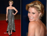 Julie Bowen In Monique Lhuillier - 2013 White House Correspondents' Association Dinner