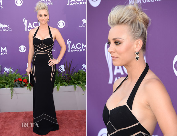 Kaley Cuoco In BCBG Max Azria - 2013 ACM Awards