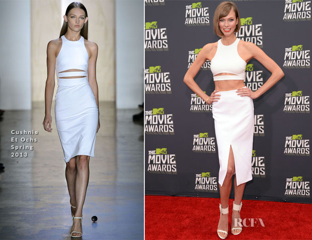 Karlie Kloss In Cushnie Et Ochs - 2013 MTV Movie Awards