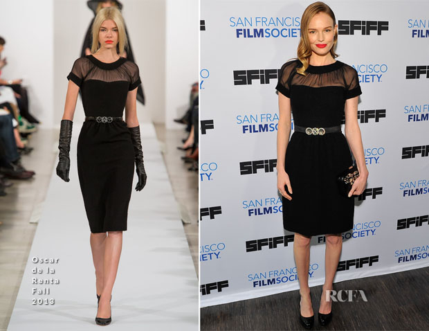 Kate Bosworth In Oscar de La Renta - 'Big Sur' San Francisco Film Festival Premiere