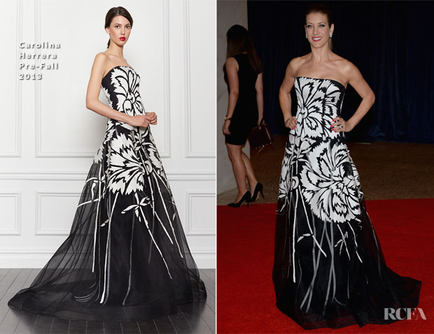 Kate Walsh In Carolina Herrera - 2013 White House Correspondents' Association Dinner