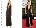 Katharine McPhee's Theyskens' Theory 'Deilidh Fwide' Dress