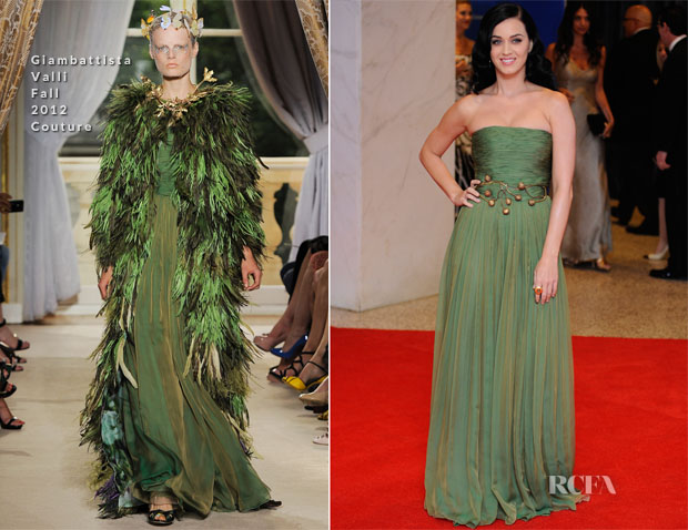Katy Perry In Giambattista Valli Couture - 2013 White House Correspondents' Association Dinner