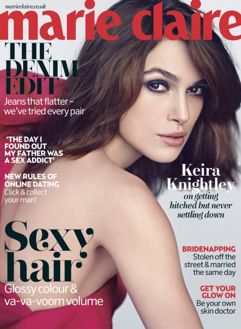Keira Knightley For Marie Claire UK May 2013