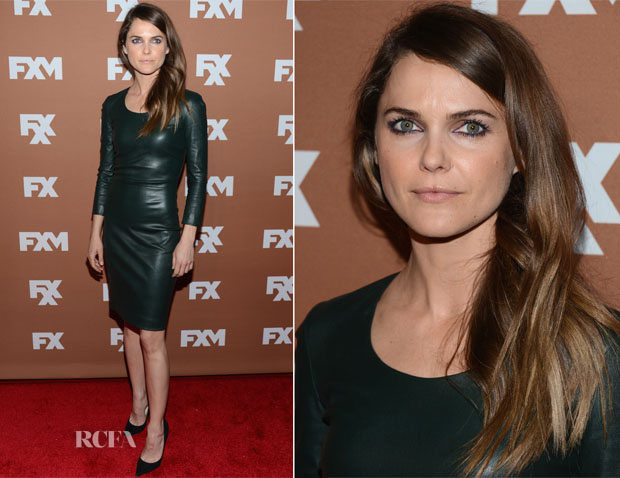 Keri Russell In The Row - 2013 FX Upfront Bowling Event