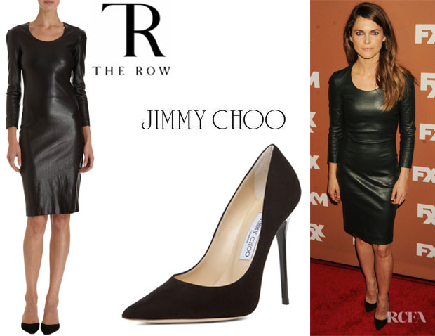 Keri Rus S The Row Quanry Dress And Jimmy Choo