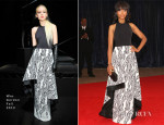 Kerry Washington In Wes Gordon - 2013 White House Correspondents' Association Dinner