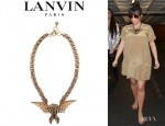 Kim Kardashian's Lanvin Eagle Necklace