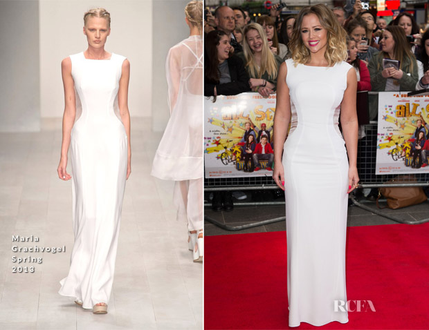 Kimberley Walsh In Maria Grachvogel - 'All Stars' London Premiere