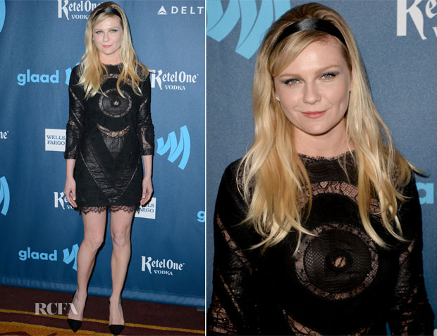 Kirsten Dunst In Emilio Pucci - 24th Annual GLAAD Media Awards