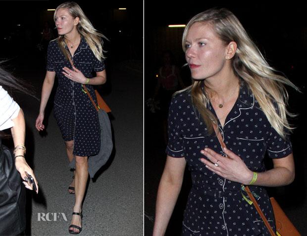 Kirsten Dunst In Ralph Lauren - 2013 Coachella