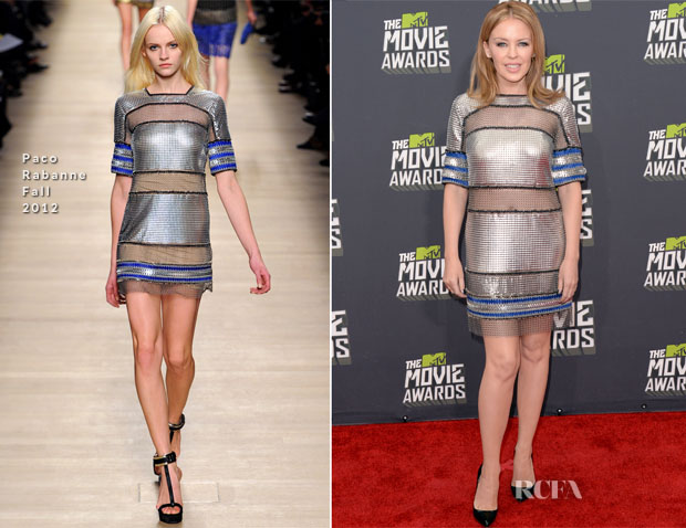 Kylie Minogue In Paco Rabanne - 2013 MTV  Movie Awards