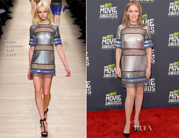 Kylie Minogue In Paco Rabanne - 2013 MTV  Movie Awards