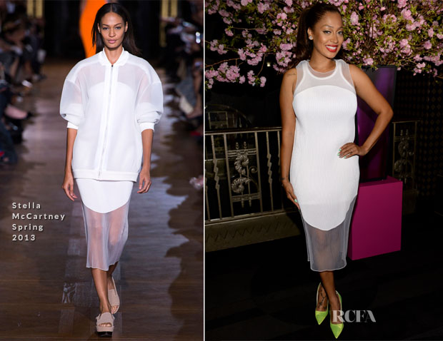 La La Anthony In Stella McCartney - 4th Annual ELLE Women in Music Celebration