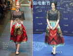 Lin Peng In Dolce & Gabbana - 3rd Beijing International Film Festival