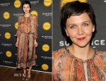 Maggie Gyllenhaal In Isabel Marant - 2013 Sundance Institute Theatre Program Benefit