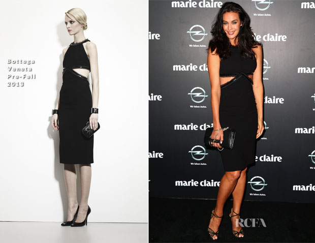 Megan Gale In Bottega Veneta - 2013 Prix de Marie Claire Awards