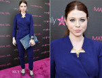 Michelle Trachtenberg In Rachel Zoe - Madonna's 'Fashion Evolution' Pop-Up Exhibit
