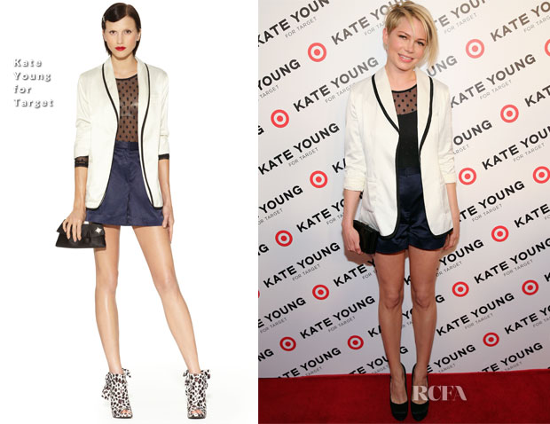 Michelle Williams In Kate Young for Target - Kate Young For Target Launch Event