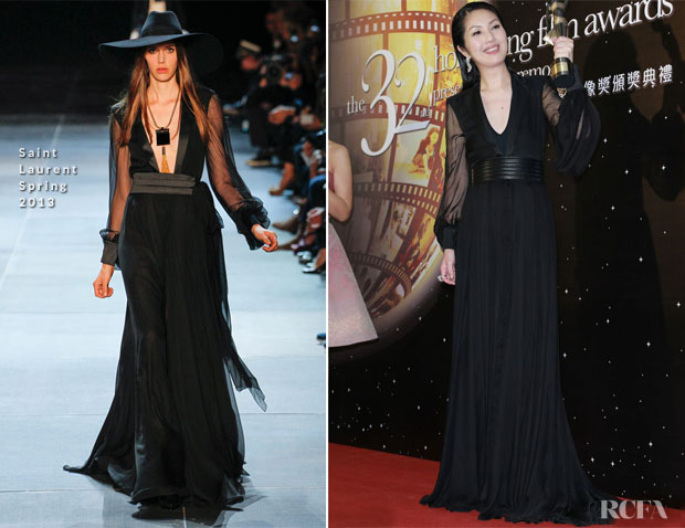 Miriam Yeung In Saint Laurent - 2013 Hong Kong Film Awards