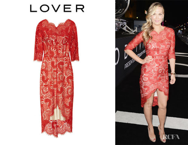 Molly Sims' Lover 'Horizon' Lace Dress