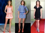 Nieves Alvarez In Moschino & Escada - Solo Moda