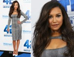 Naya Rivera In Monique Lhuillier - '42' LA Premiere