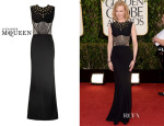 Nicole Kidman's Alexander McQueen Bee Embellished Fish-Tail Gown