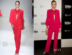 Nieves Alvarez In Gucci - Condé Nast Traveller Awards