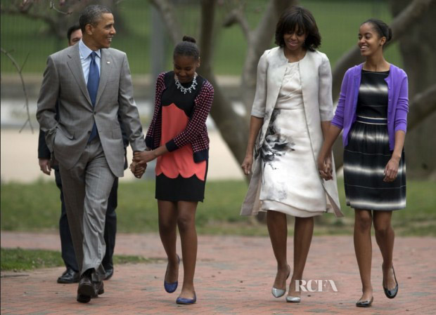 Obama in Prabal Gurung copy