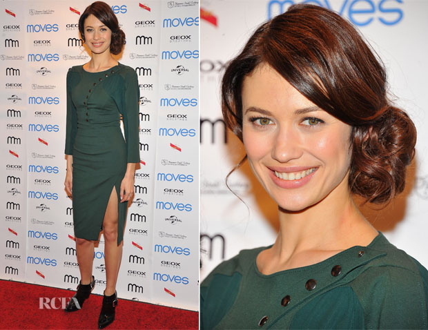 Olga Kurylenko In Altuzarra - 2013 Moves Magazine Spring Fashion Cover Party