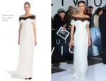 Olga Kurylenko In Marchesa - 'Oblivion' London Premiere