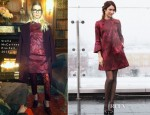 Olga Kurylenko In Stella McCartney - 'Oblivion' Moscow Photocall