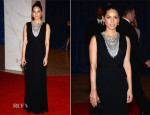 Olivia Munn In Marchesa - 2013 White House Correspondents' Association Dinner