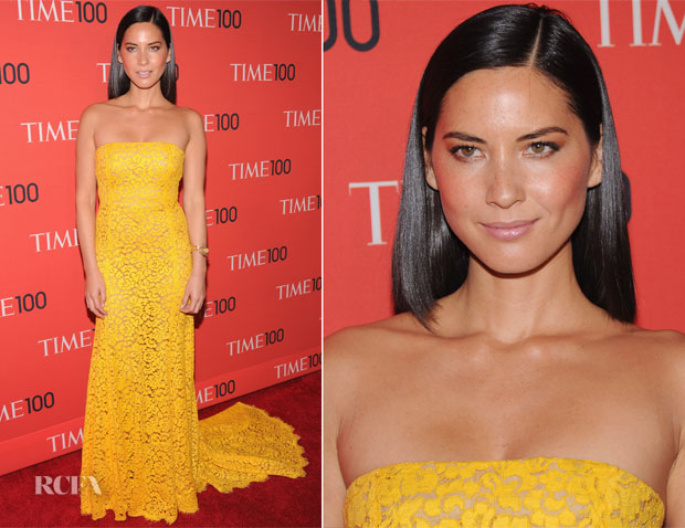 Olivia Munn In Michael Kors - 2013 Time 100 Gala