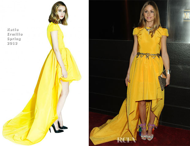Olivia Palermo In Katie Ermilio - New Year's in April A Fool's Fete