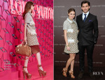 Olivia Palermo & Johannes Huebl In Louis Vuitton - Louis Vuitton Maison Munich Opening