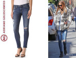 Olivia Palermo's AG Adriano Goldschmied 'Stilt' Cigarette Jeans
