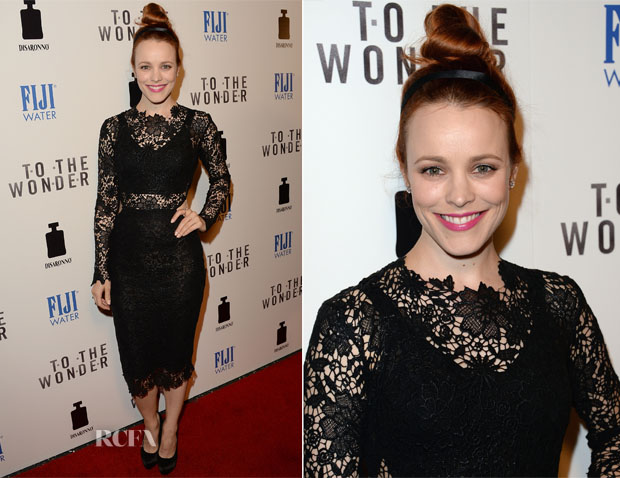 Rachel McAdams In Maria Lucia Hohan - 'To The Wonder' LA Premiere