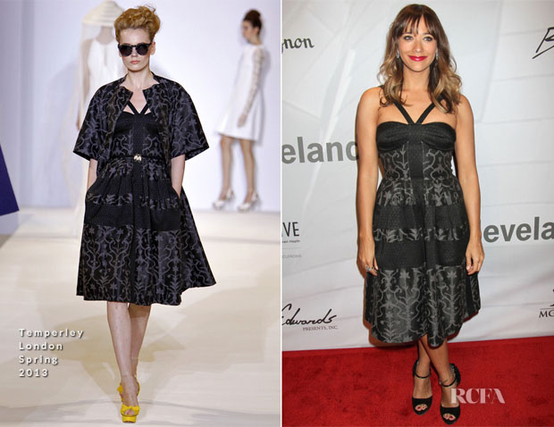 Rashida Jones In Temperley London - 17th Annual 'Power of Love Gala'