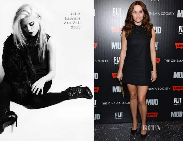 Reese Witherspoon In Saint Laurent - 'Mud' New York Screening