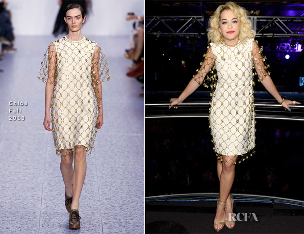 Rita Ora In Chloé - 4th Annual ELLE Women in Music Celebration Performance
