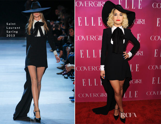 Rita Ora In Saint Laurent - 4th Annual ELLE Women in Music Celebration