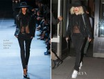 Rita Ora In Saint Laurent - Out In New York City