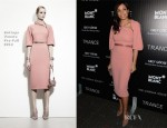Rosario Dawson In Bottega Veneta - 'Trance' New York Premiere