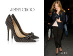 Rosie Huntington-Whiteley's Jimmy Choo 'Maya' Studded Pumps