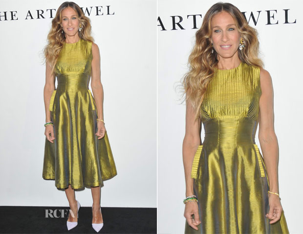 Sarah Jessica Parker In Alexandra New York Vintage - Cindy Chao's 'The Art Jewel' Event