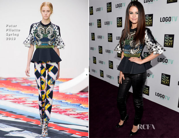 Selena Gomes In Peter Pilotto – 2013 NewNowNext Awards