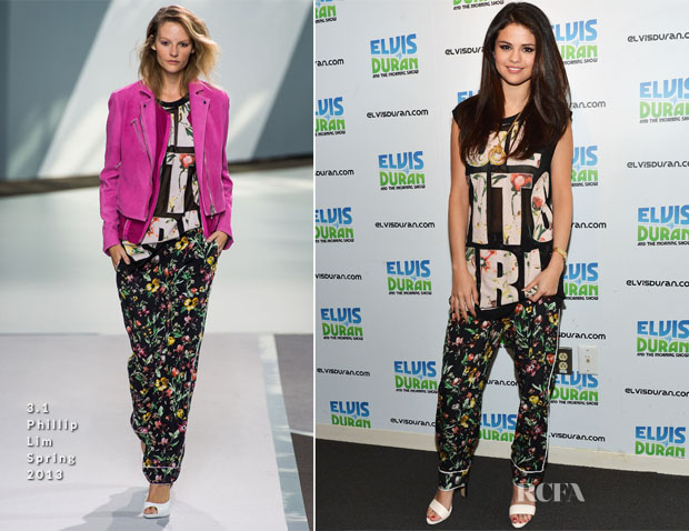 Selena Gomez In 31 Phillip Lim - Elvis Duran Z100 Morning Show